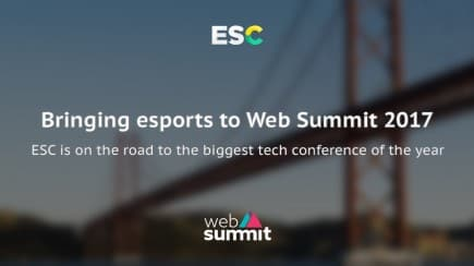 Bringing esports to Web Summit 2017
