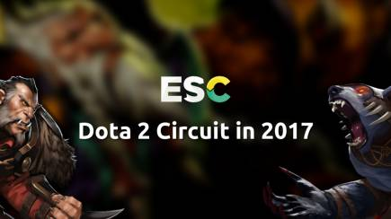 Dota 2 Circuit in 2017