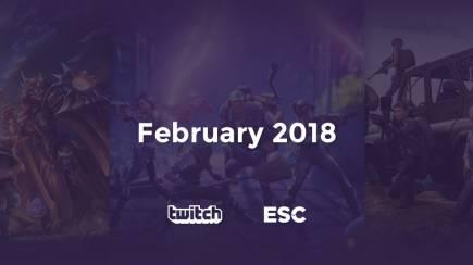 February Twitch analysis