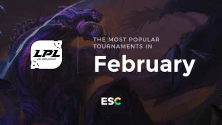 The most popular tournaments of February