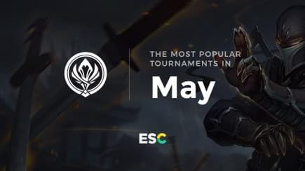 The most popular tournaments of May