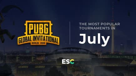 The most popular tournaments of July