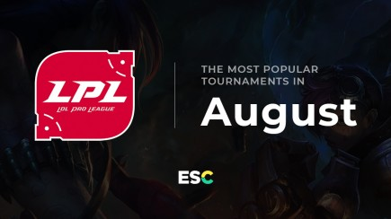The most popular tournaments of August