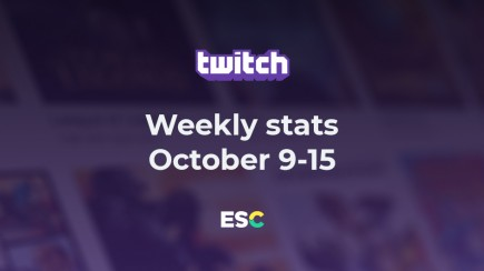 PUBG is dead? Weekly Twitch stats