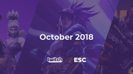 October Twitch analysis