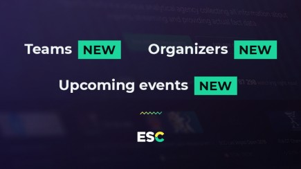ESC Growth #4: New website sections