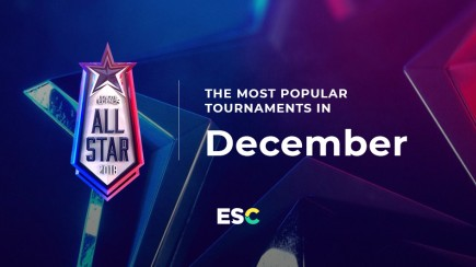 The most popular tournaments of December
