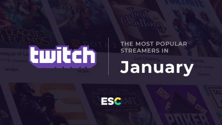 The most popular streamers of January