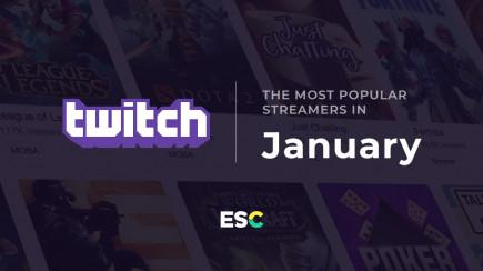 Самые популярные стримеры января
