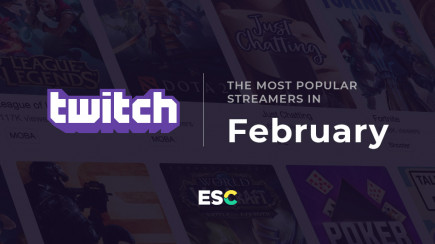 The most popular streamers of February