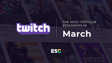 The most popular streamers of March