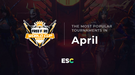 The most popular tournaments of April
