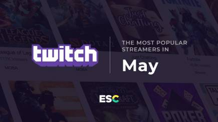 The most popular streamers of May