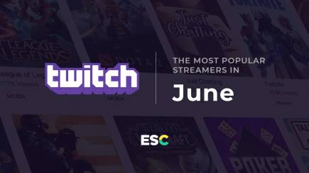 The most popular streamers of June