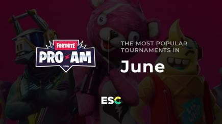 The most popular tournaments of June