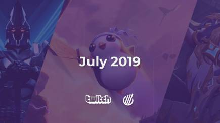 Twitch analysis for July