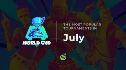 The most popular tournaments in July