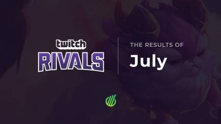 Twitch Rivals: The results of July