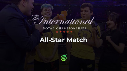 TI9: All-Star match statistics