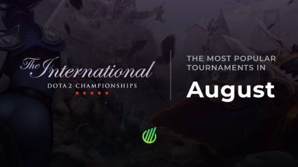 The most popular tournaments in August