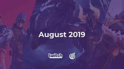 Twitch analysis for August