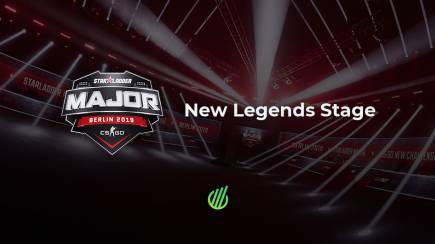 Berlin Major: New Legends Stage