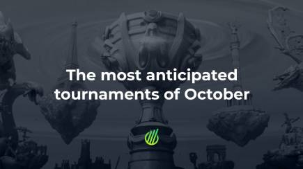 The most anticipated tournaments of October