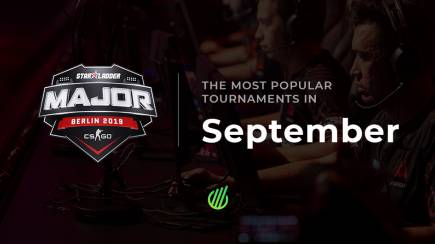 The most popular tournaments of September