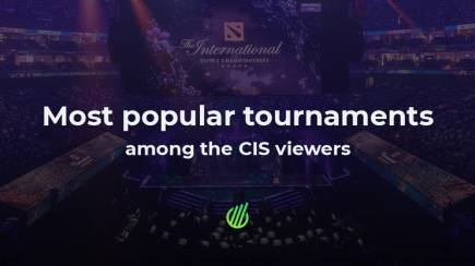 The most popular tournaments among the Russian viewers