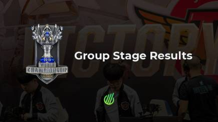 Worlds 2019: The group stage results