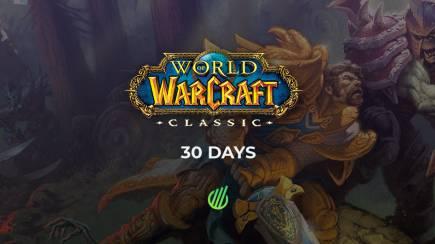 WoW Classic: 30 Days