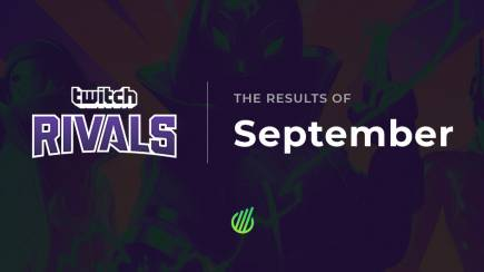 Twitch Rivals: The results of September