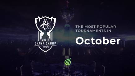 The most popular tournaments of October