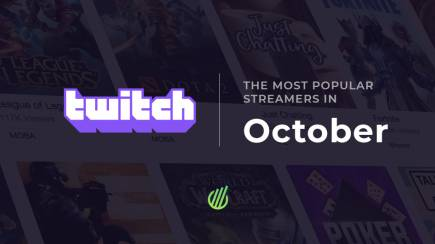 The most popular Twitch streamers of October