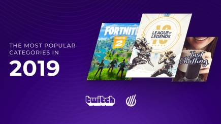 Most popular Twitch categories of 2019