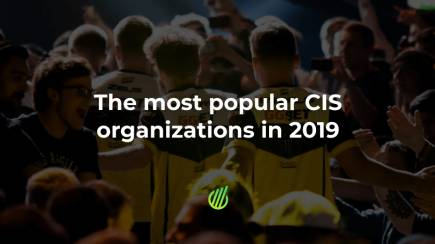 The most popular CIS organizations in 2019