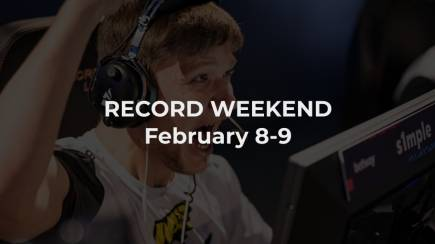 An interesting esports weekend in February