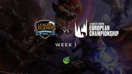 EU vs NA: Who was the best at spending the first week of 2020?