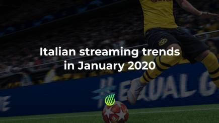 Streaming trends in Italy