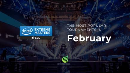 The most popular tournaments in February 2020