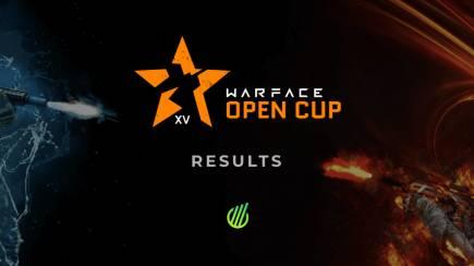 Warface Open Cup Season XV: Results