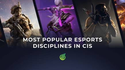Most popular esports disciplines in CIS of 2019