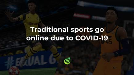 Traditional sports go online due to COVID-19