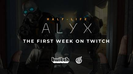 Half-Life: Alyx. The first week on Twitch