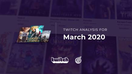 The most popular Twitch categories of March