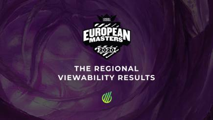 The regional results for the EU Masters 2020