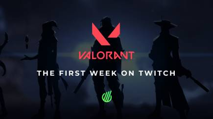 Valorant: First week on Twitch
