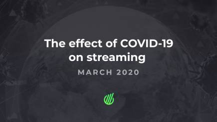 The effect of Coronavirus on streaming in March