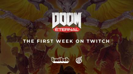 First week of Doom Eternal on Twitch