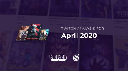 The most popular Twitch categories of April